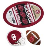 Oklahoma Sooners Helmet 3 pc Magnet Set