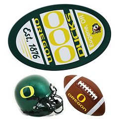 Oregon Ducks Helmet 3-Piece Magnet Set