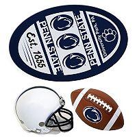 Penn State Nittany Lions Helmet 3 pc Magnet Set