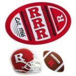 Rutgers Scarlet Knights Helmet 3 pc Magnet Set