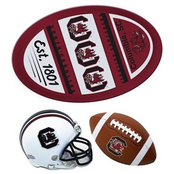 South Carolina Gamecocks Helmet 3-Piece Magnet Set