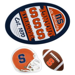 Syracuse Orange Helmet 3-Piece Magnet Set