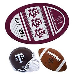 Texas A&M Aggies Helmet 3 pc Magnet Set