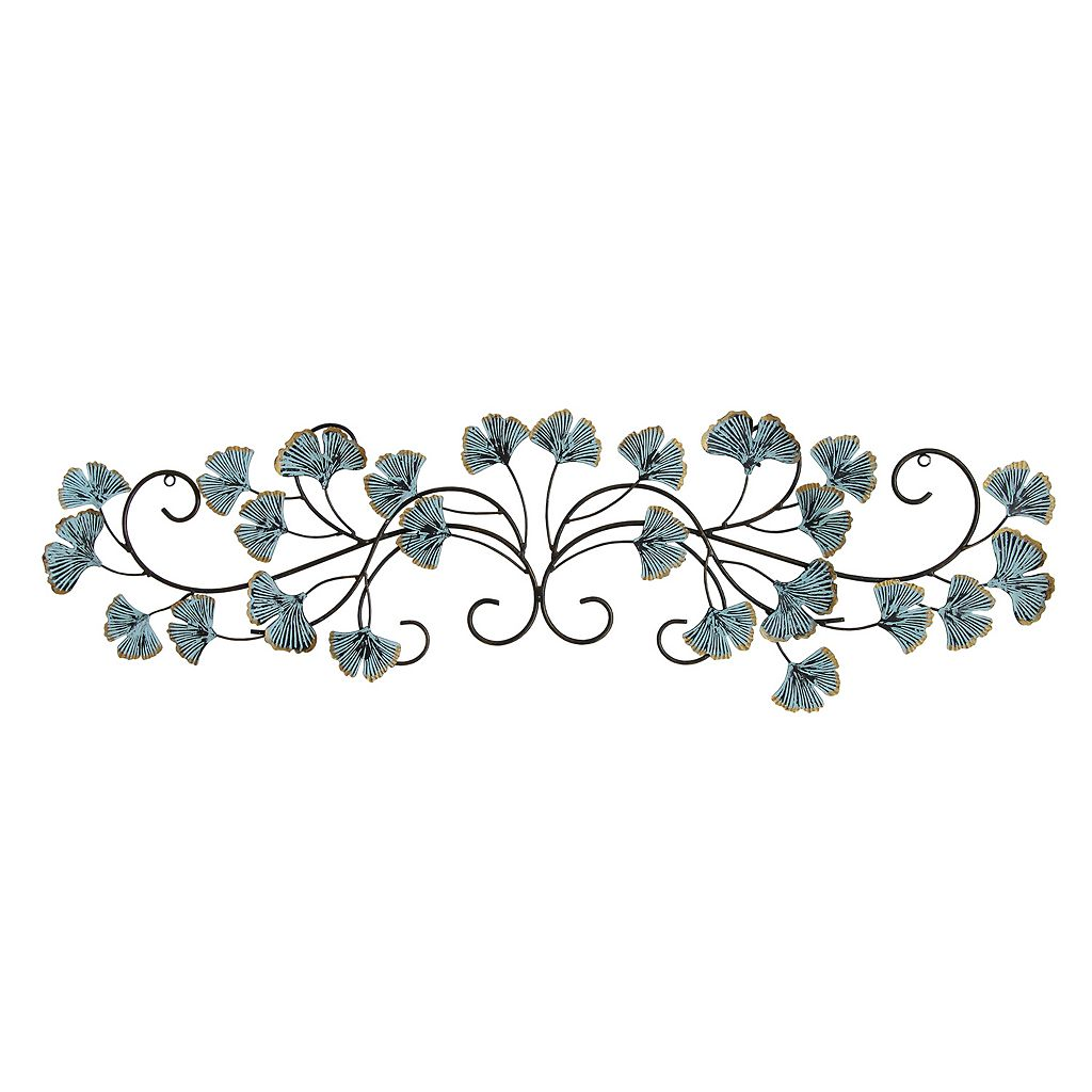 Stratton Home Decor Ginkgo Leaves Metal Wall Decor