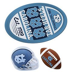 North Carolina Tar Heels Helmet 3-Piece Magnet Set
