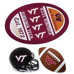 Virginia Tech Hokies Helmet 3-Piece Magnet Set