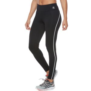 Women's FILA SPORT® Mesh Inset Running Leggings