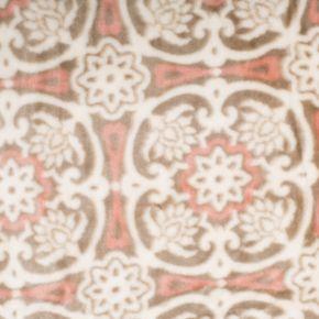 Tasha Collection Plush Fleece Luxury Blanket