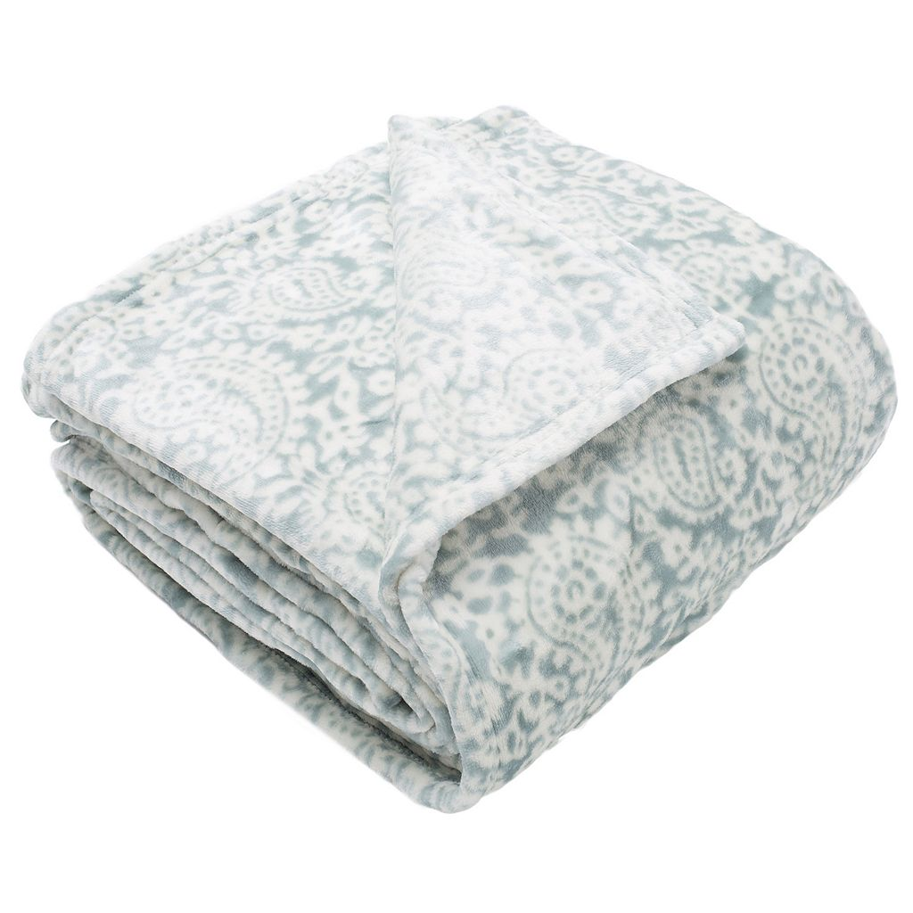 Bella Collection Plush Fleece Luxury Blanket