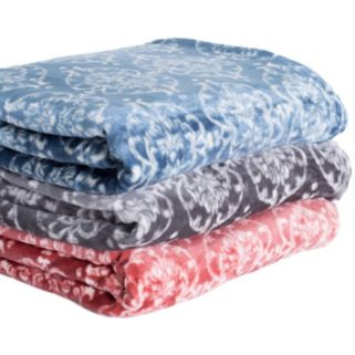 Kingston Collection Plush Fleece Luxury Blanket