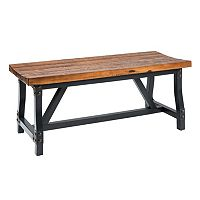 INK+IVY Lancaster Industrial Dining Bench