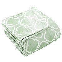 Lattice Plush Fleece Luxury Blanket