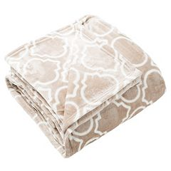 Lattice Plush Fleece Luxury Blanket