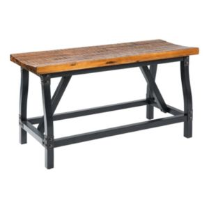 INK+IVY Lancaster Industrial Counter Bench