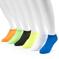 Big & Tall Tek Gear® 6-pack Performance No-Show Socks