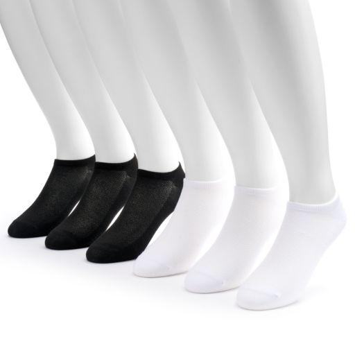 Big & Tall Tek Gear® 6-pack Performance No-Show Socks