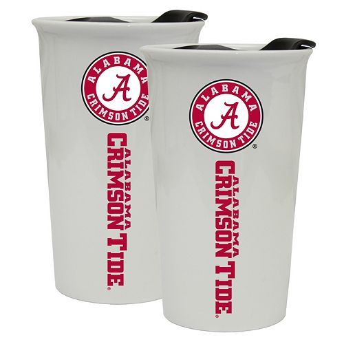 Alabama Crimson Tide 2-Pack Ceramic Tumbler Set