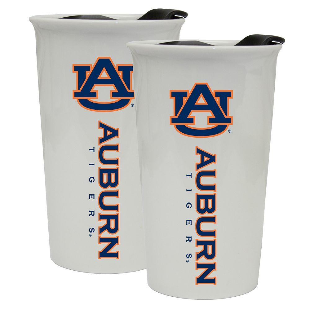Auburn Tigers 2-Pack Ceramic Tumbler Set