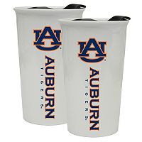 Auburn Tigers 2-Pack Ceramic Tumbler Set