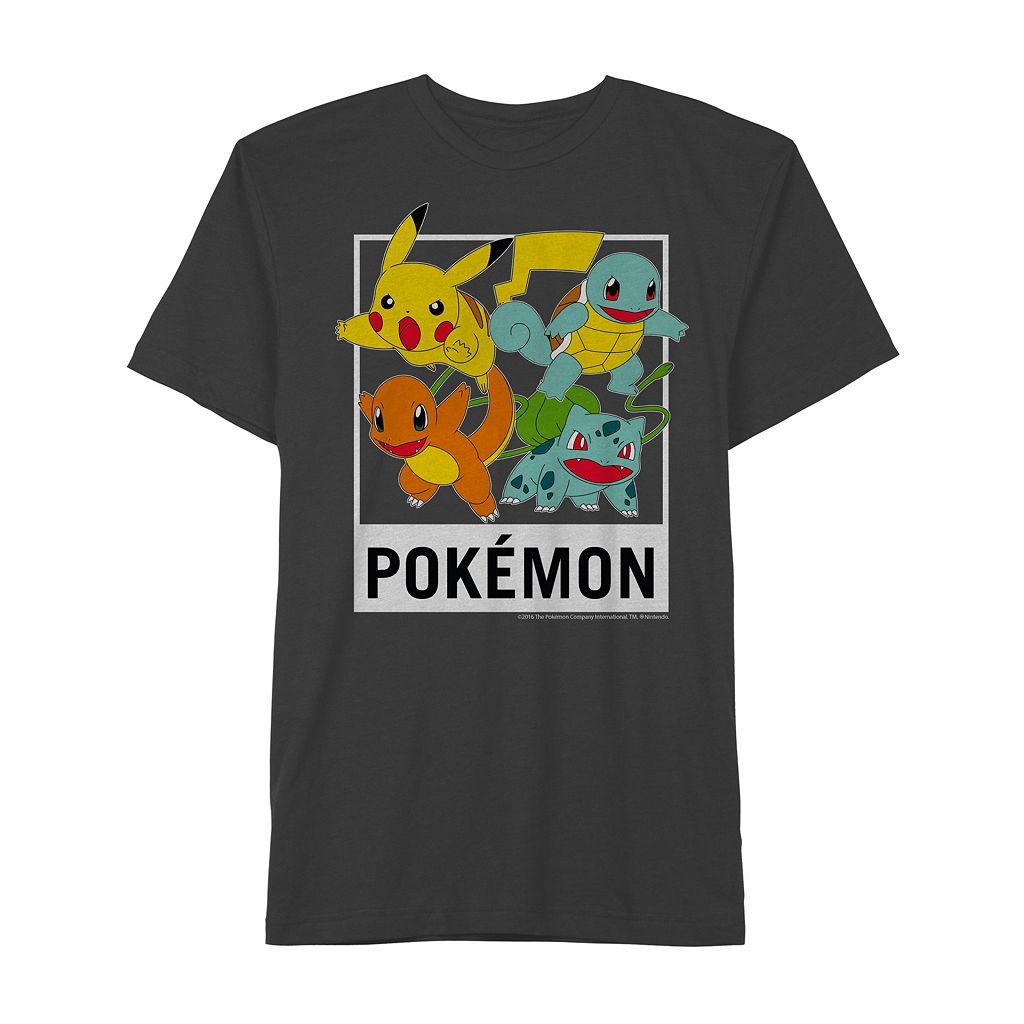 Boys 8-20 Pokemon Team Tee