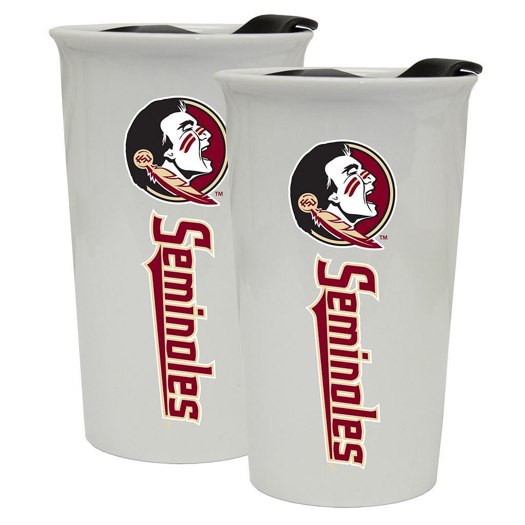 Florida State Seminoles 2-Pack Ceramic Tumbler Set