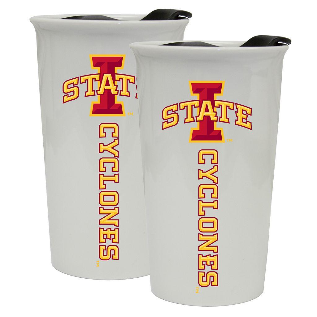 Iowa State Cyclones 2-Pack Ceramic Tumbler Set