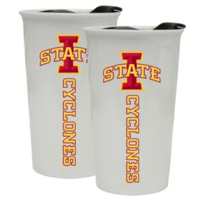 Iowa State Cyclones 2-Pack Ceramic Tumbler Set