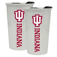 Indiana Hoosiers 2-Pack Ceramic Tumbler Set