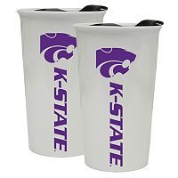 Kansas State Wildcats 2-Pack Ceramic Tumbler Set