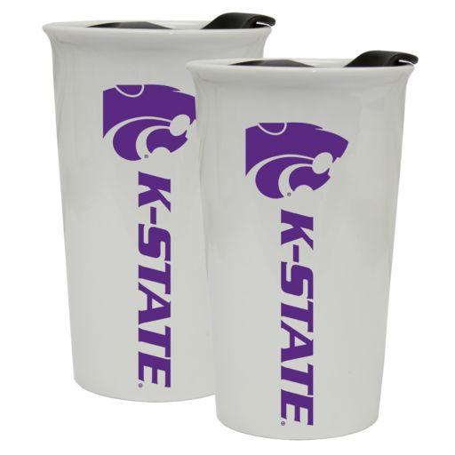 Kansas State Wildcats 2-Pack Ceramic Tumbler Set