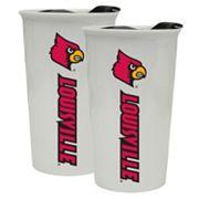 Louisville Cardinals 2-Pack Ceramic Tumbler Set
