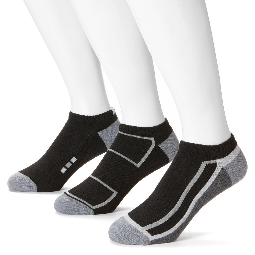 Men's Extended Length Tek Gear® 3-pk. Performance Low-Cut Socks
