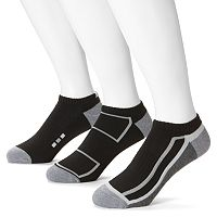 Men's Extended Length Tek Gear® 3 pkPerformance Low-Cut Socks