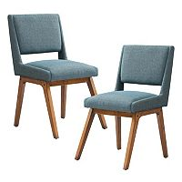 INK+IVY Boomerang Dining Chair 2 pc Set