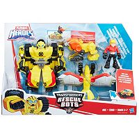 Playskool Heroes Transformers Rescue Bots Bumblebee Rock Rescue Team Set