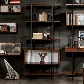 INK+IVY Clark Contemporary Bookshelf