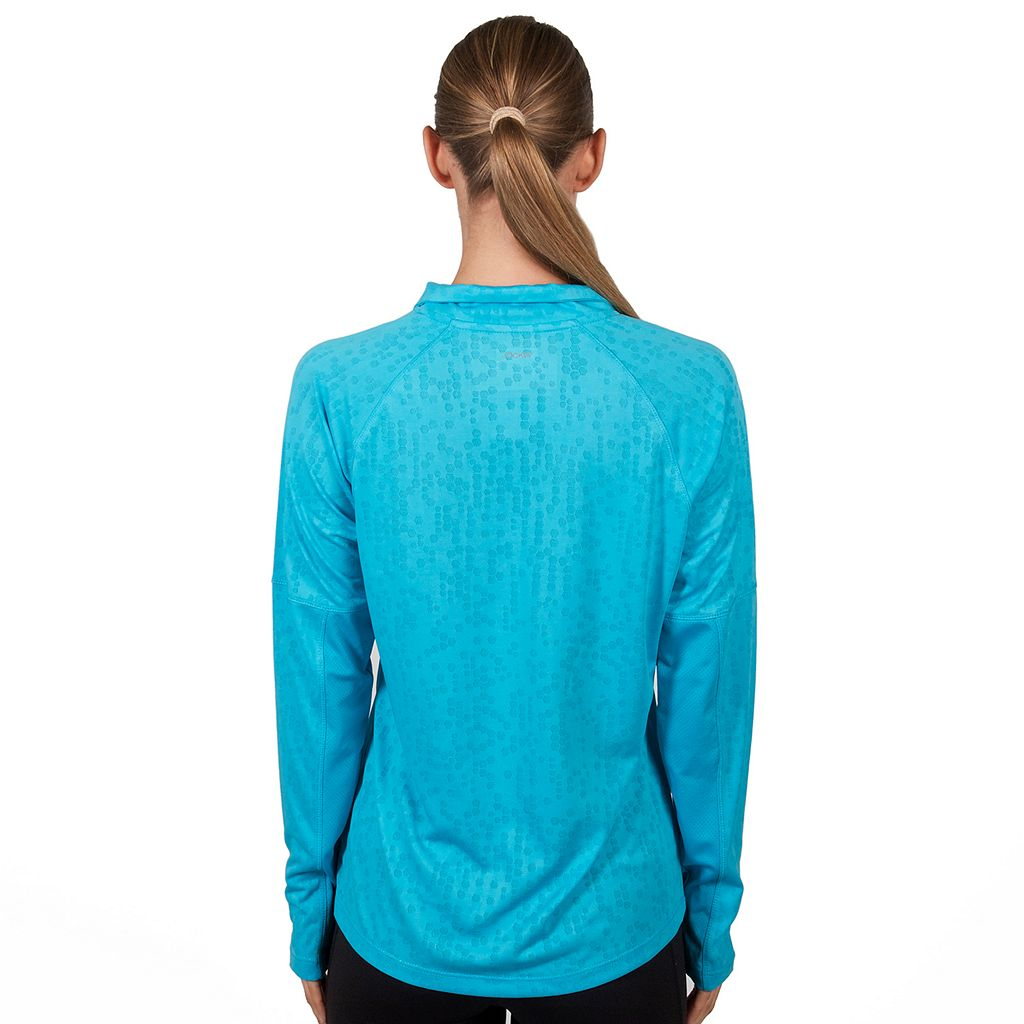 Women's Jockey Sport Jacquard Half Zip Running Jacket
