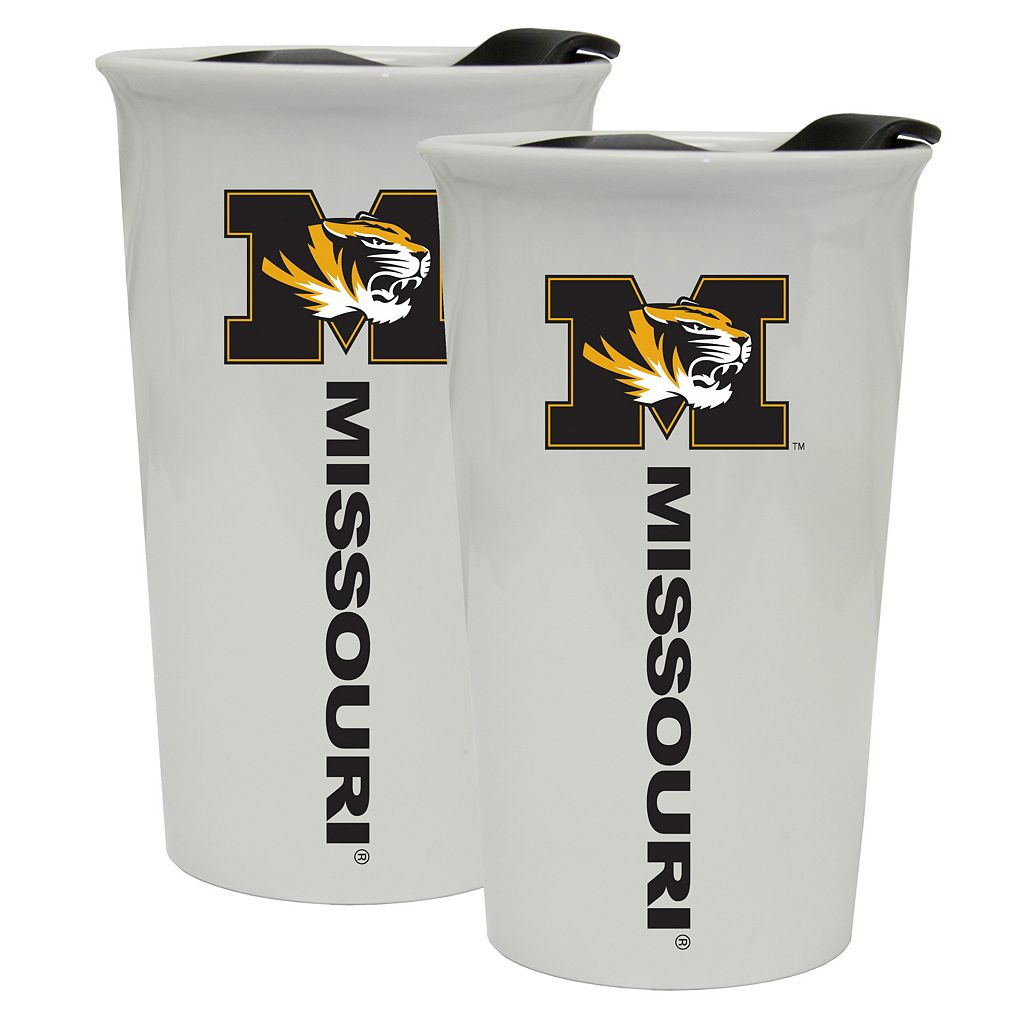 Missouri Tigers 2-Pack Ceramic Tumbler Set