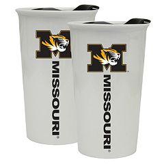 Missouri Tigers 2-Pack Ceramic Tumbler Set