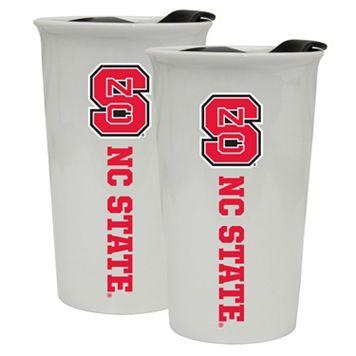 North Carolina State Wolfpack 2-Pack Ceramic Tumbler Set