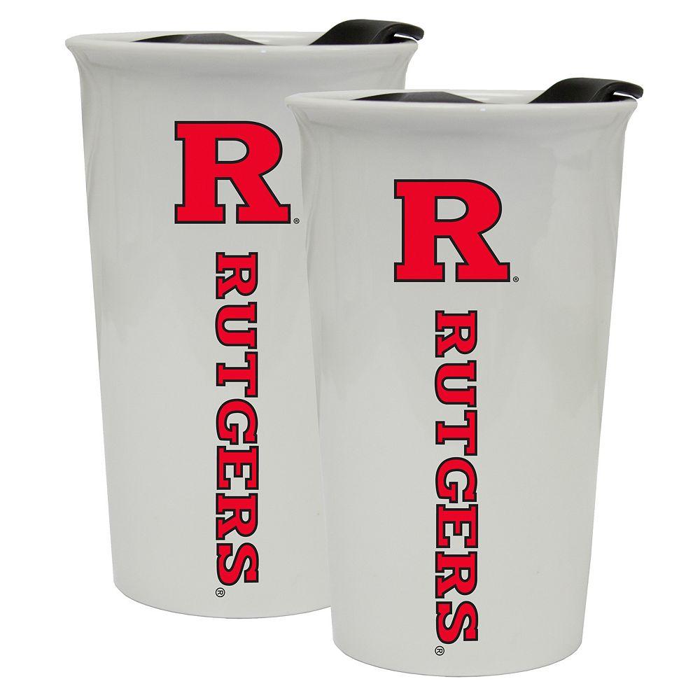 Rutgers Scarlet Knights 2-Pack Ceramic Tumbler Set