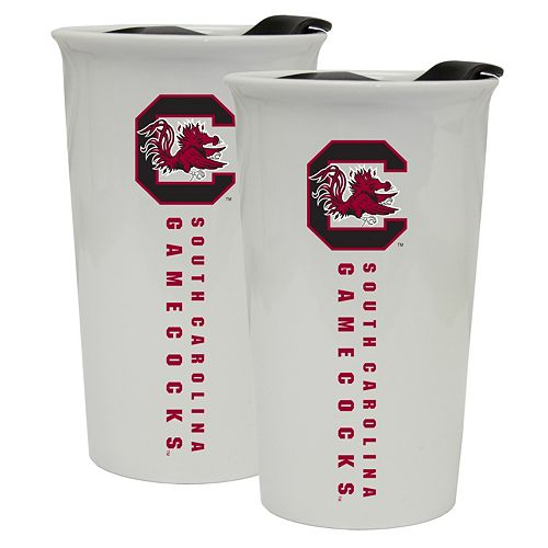 South Carolina Gamecocks 2-Pack Ceramic Tumbler Set