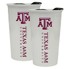 Texas A&M Aggies 2-Pack Ceramic Tumbler Set