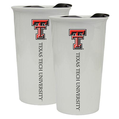 Texas Tech Red Raiders 2-Pack Ceramic Tumbler Set