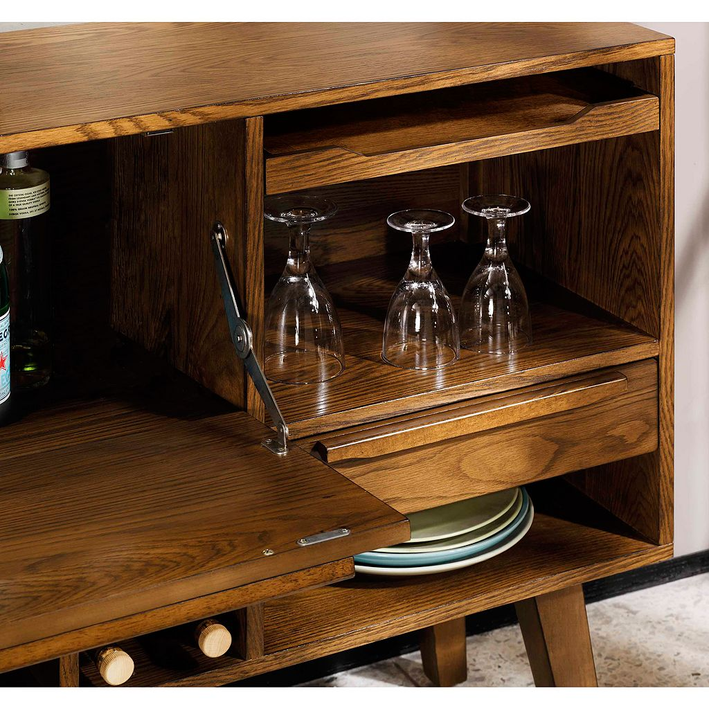 INK+IVY Clark Bar Storage Cabinet