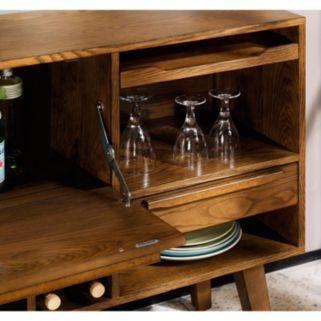 INK+IVY Clark Bar Storage Cabinet