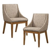 INK+IVY Dean Upholstered Dining Chair 2 pc Set