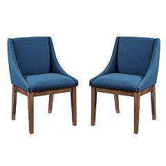INK+IVY Dean Upholstered Dining Chair 2-piece Set