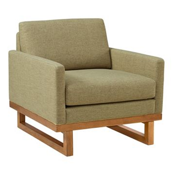INK+IVY Metro Mid-Century Arm Chair