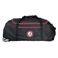 Alabama Crimson Tide Wheeled Collapsible Duffle Bag